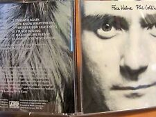 PHIL COLLINS FACE VALUE 1st Edition CD Disc West Germany UK Import ERIC CLAPTON