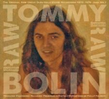Tommy Bolin - The Original Raw Uncut Glen Holly Studio Recordings 1973-1976  CD