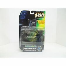 STAR WARS POWER OF THE FORCE Electronic Power FX Emperor Palpatine Action Figure