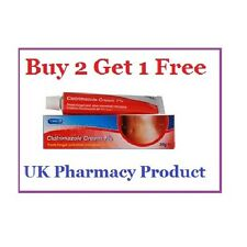 Clotrimazole Cream 1% - Canesten -Thrush/Nappy Rash/Ringworm/Athletes Foot - 20g