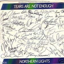 "Canada 7"" Northern Lights Tears Are Not Enough David Foster Bryan Adams"
