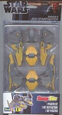 Revell #8339 Star Wars Jedi Starfighter SnapTite on Blister Card--Free Shipping