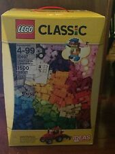 Lego Classic 1500 Pieces Large Box Sealed New #10697