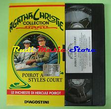 VHS filmPOIROT A STYLES COURT Agatha Christie collection DEAGOSTINI (F83*)no*dvd
