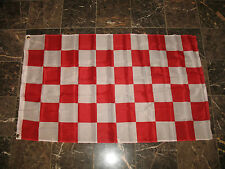 3x5 Advertising Checkered Checker Red White flag 3'x5' banner