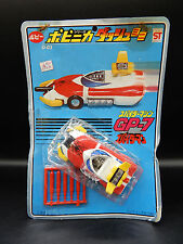 vintage POPY Japan SPIDERMAN GP-7 Leopardon diecast car Spider-Man chogokin toy