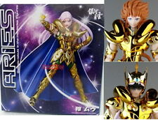 GALAXY Saint Seiya GOLD cloth ARIES MU action figure+KIKI HEAD Parts #myth ex