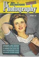 Minicam Photography--Oct. 1941-----160