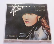 ALANNAH MYLES - Black Velvet MCD Maxi CD If you want to - who loves you