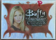 Buffy Connections Trading Cards PARALLEL Base Set
