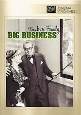 Big Business,New DVD, Spring Byington, Shirley Deane, Jed Prouty, Frank R. Stray