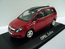 Vauxhall Opel Zafira B  Model Car 1/43 made by Minichamps NOS Boxed