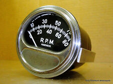 Sun Early RF-1 Tach, 8,000 RPM, For Mag Ignition, 2-Cycle, 1, 2, or 4 Cylinder