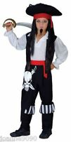 BOYS KIDS PIRATE CAPTAIN BLACKHEART FANCY DRESS COSTUME BOOK DAY WEEK JACK PARTY
