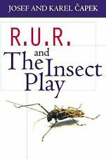 R. U. R. and the Insect Play by Josef Capek and Karel Capek (1961, UK-Paperback)