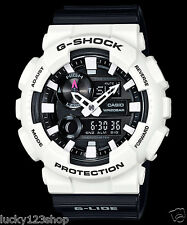 GAX-100B-7A Black White Casio Watches G-Shock 200M Analog Digital X-Large Resin