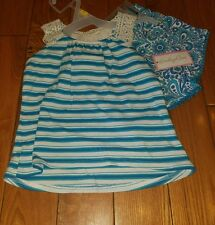 NWT Girls EMILY ROSE Blue summer spring Outfit Size 2T