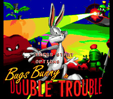 Bugs Bunny Double Trouble - Sega Genesis Game Only