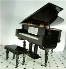 Dollhouse Miniature Piano Grand Piano Grand Piano Musical Instrument
