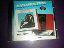 "VERY RARE SYLVESTER ""ALL I NEED / CALL ME "" 2 LP's On One CD 15 TRKS MEGATONE"