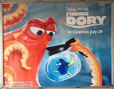 Cinema Poster: FINDING DORY 2016 (Octopus & Jug Quad) Ellen DeGeneres Idris Elba