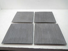 Gray Pine Square Charger Plates