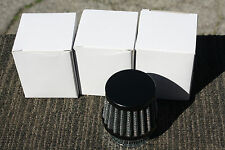 Universal BLACK Pod air filter 42mm Pod filters 40mm 41mm 43mm 44mm SOLD EACH