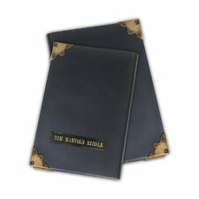HARRY POTTER REPLICA 1/1 TOM RIDDLE DIARY DIARIO ORCRUX VOLDEMORT PITON SILENTE