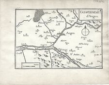 Antico mappe, gouvernement d'Angers