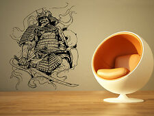 Wall Room Decor Art Vinyl Sticker Mural Decal Ninja Samurai Warrior Large AS1750