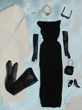 Audrey Hepburn Tiffany's Black Gown & Accessorie ~ Newly De-boxed ~Free U.S Ship
