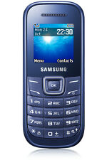 ►Samsung Guru E1200 Blue GSM Phone 1.5-inch TFT Screen & Alphanumeric Keypad►