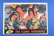1962 Topps Bubbles - Mars Attacks - #35 The Flame Throwers - VG/Exc. Condition