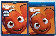 DISNEY PIXAR FINDING NEMO BLU RAY 2 DISC + SLIPCOVER SLEEVE FREE WORLD SHIPPING