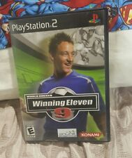 winning eleven 9 ps2 case and game no manual.