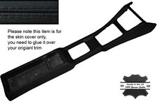 BLACK STITCHING CENTER CONSOLE TRIM LEATHER SKIN COVERS FITS DATSUN 240Z 70-73