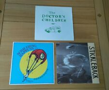 "Indie Rock Job Lot 3 UK 7"" Doctor's Children Something Happens Edsel Auctioneers"