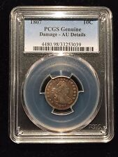 1807 Draped Bust Dime PCGS AU About Uncirculated Type 10 Cent 10c Dollar Liberty