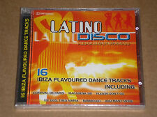LATINO DISCO - 16 IBIZA FLAVOURED DANCE TRACKS - CD SIGILLATO (SEALED)