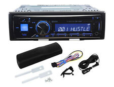 Alpine CDE-143BT Single Din Car CD Receiver with Advanced Bluetooth, USB, iPod