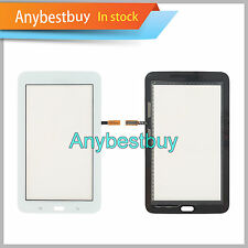 "White For Samsung Galaxy Tab3 Lite SM-T110 7.0"" Touch Screen Digitizer Lens USA"