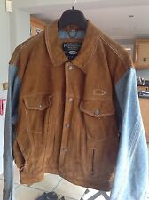 MEN SUEDE AND DENIM JACKETS SIZE M PEPE CO ORIGINAL QUALITY & Style