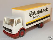 MICRO WIKING HO 1/87 CAMION MB MERCEDES LP 1017 ICI AUTO LACK SERVICE a