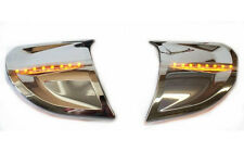 Headlight Trim Kit w/ Amber LEDs for F6B Goldwing 2013 & Later (45-1299ALED)
