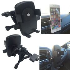 360° Universal Car Air Frame Vent Mount Cradle Holder Stand For Cell Phone GPS