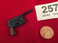 ACTION MAN - VINTAGE ACTION MAN  GERMAN MAUSER C96 9mm Pistol Ref 257