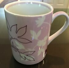 Starbucks Mug 2006 Lavender Flora Flower Butterfly Purple Lilac 12 oz Coffee Cup