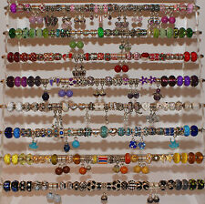 100 Wholesale Job Lot Silver Plated Rhinestone Enamel Charm Jewellery Making