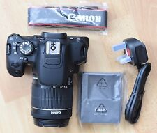 Canon EOS 700D 18.0MP Digital Camera - Black (Kit w/ EF-S 18-55mm IS STM Lens)