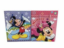 6pcs Disney Mickey & Minnie Mouse Party Goodie Bags Party Favor Paper Gift Bags